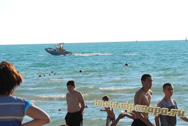 Анапа пляж возле речки Анапки