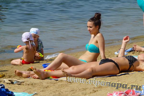 Анапа 9 июня 2014г. Центральный пляж