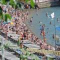 """Анапа 9 июня 2014г. пляж возле санатория """"Русь"""""""