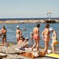 """Анапа пляж возле санатория """"Русь"""""""